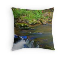 MIDDLE PRONG Throw Pillow