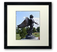 Angel of Hope Framed Print