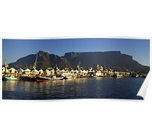 Table Mountain, Cape Town Poster
