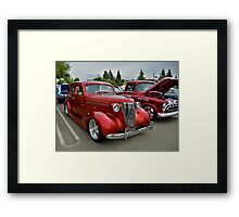 Old classic cars Framed Print
