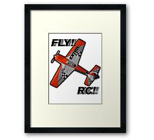 Fly RC! Framed Print