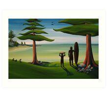Beach Bros Art Print
