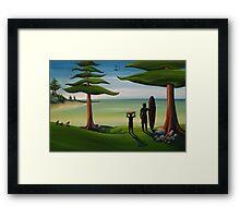 Beach Bros Framed Print