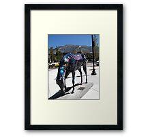 """2000 Space Odyssey""  Framed Print"