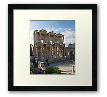 Library of Celcus in Ephesus, Turkey Framed Print