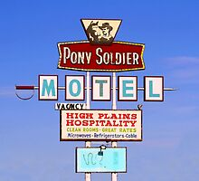 Pony Soldier Motel Sign, Route 66 by Catherine Sherman