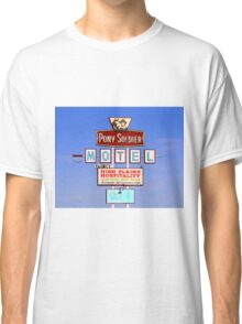 Pony Soldier Motel Sign, Route 66 Classic T-Shirt