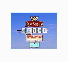 Pony Soldier Motel Sign, Route 66 Unisex T-Shirt