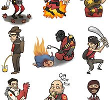 TF2 Minis  by SarahLReynolds
