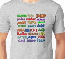 Father in Many Languages Unisex T-Shirt