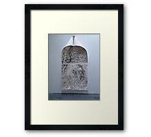 shrouded mystery Framed Print