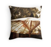 ~ together in sunshine and in shade~ Throw Pillow
