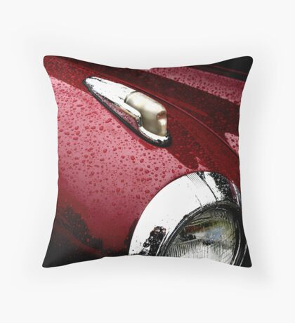Droplets on Lincoln Throw Pillow