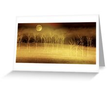 Only at Night Greeting Card