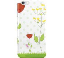 Cute Floral Illustration iPhone Case/Skin
