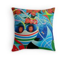 Kite Runners Throw Pillow
