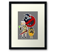 It's Ghostbusters Time! Framed Print