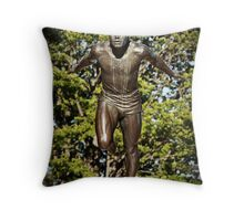 Try to catch up to me! Throw Pillow
