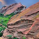 Morning Red Rocks by Mark Bolen