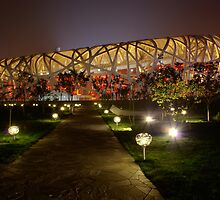 North side of Beijing's Bird's Nest by Alphafish