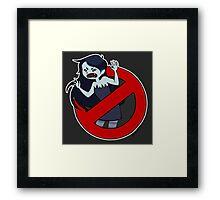Ghostbusters Time II Framed Print