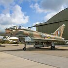 Eurofighter Typhoon FGR.4 ZK349 GN-A in camouflage by Colin Smedley