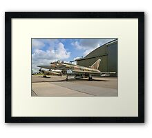 Eurofighter Typhoon FGR.4 ZK349 GN-A in camouflage Framed Print