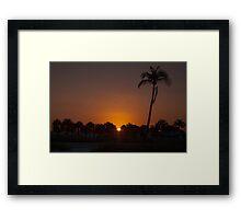 Hail The New Day!  Framed Print