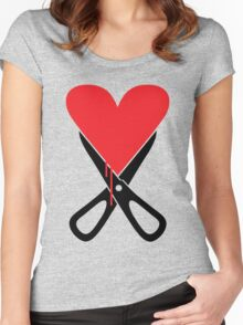 Heartbreaker... Women's Fitted Scoop T-Shirt