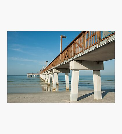 Morning at the Pier  Photographic Print