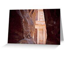 Peaking Petra Greeting Card