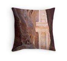 Peaking Petra Throw Pillow