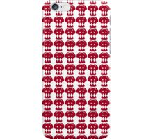 Hiccup Skull logo - Red&White iPhone Case/Skin
