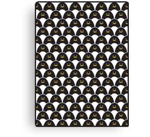 Waddle of Penguins Canvas Print