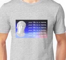 your life is a meme Unisex T-Shirt