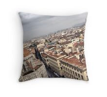 Florence from the Campanile Throw Pillow