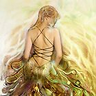 my imaginary golden gown by cristina