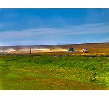 September on The Prairie Photographic Print