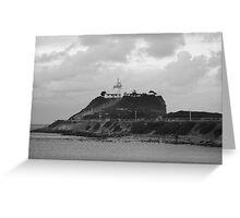 Nobbys Head Lighthouse, Newcastle Greeting Card