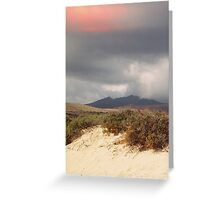 Cloudy Dune Greeting Card