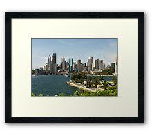 The City  Sydney Framed Print