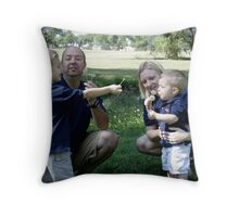 Making Wishes Throw Pillow