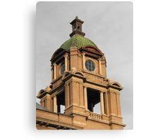 The Court House Tower Canvas Print
