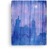 The Castle hidden in the Forest Canvas Print