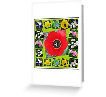 Spring Has Sprung Collage Greeting Card