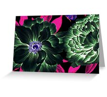 Etheral Floral Greeting Card
