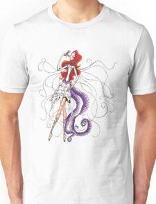 Lilac Euphoria & Black Beads Shirt Unisex T-Shirt