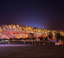 Beijing's Bird Nest Stadium - South side by Alphafish