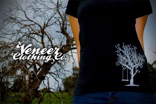 WHITE VENEER TREE by veneer