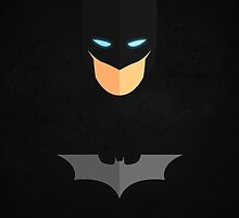 The Dark Knight - Batman by alastairmcneill
